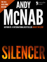 Silencer, a Nick Stone thriller by Andy McNab