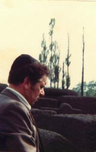 Praying at Auschwitz 1980